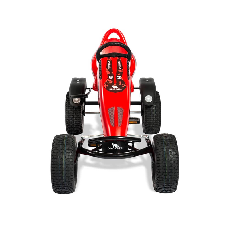 DINO CARS Gokart Edition X-Trail BF1 rot