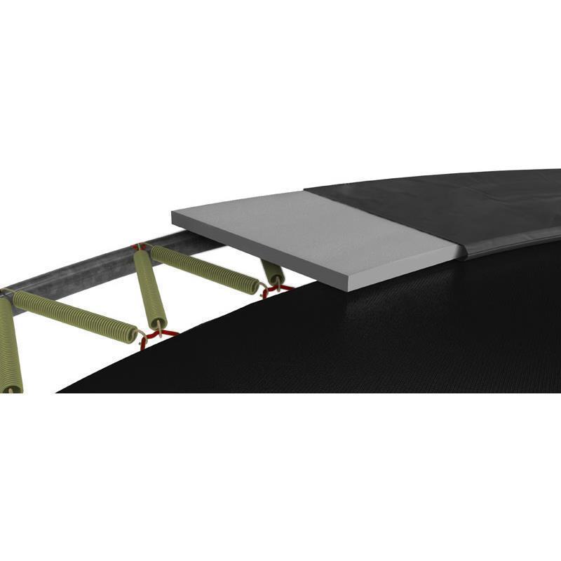 BERG Trampolin Elite Ø 330 cm InGround grau mit Netz Deluxe