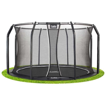 Salta Bodentrampolin Royal Base Ground schwarz mit...