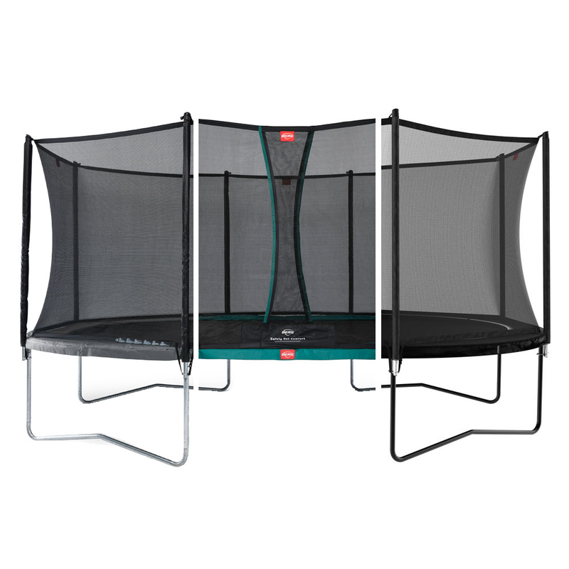BERG Trampolin Grand Favorit oval 345 x 520 cm mit Netz Comfort