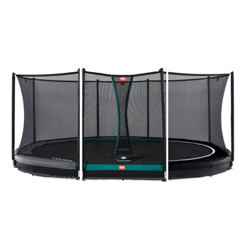 BERG Trampolin Grand Favorit oval 345 x 520 cm Inground...