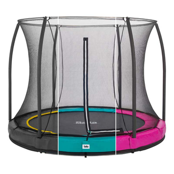 Salta Trampolin Comfort Edition Ground mit Netz
