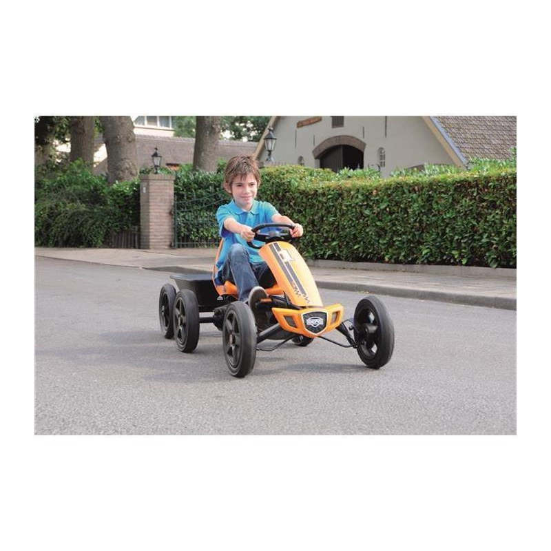 BERG Gokart Rally Orange BF-R inkl. Anhänger Junior